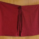falda abierta