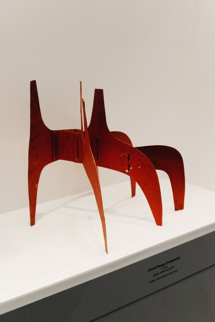 Cheval Rouge (maquette)